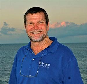 Captain Ron McCaslin of the Bahamas dive liveaboard Aqua Cat