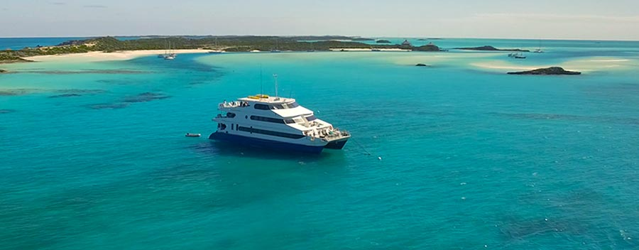 The Aqua Cat is a dive liveaboard in the Bahamas