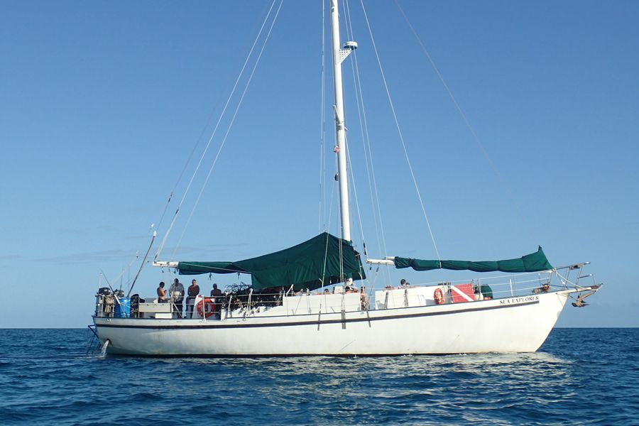 Bahamas dive liveaboard Sea Explorer of Blackbeard's Cruises exploring the Exuma Cays