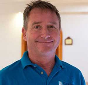 Capt Scott of the BVI dive liveaboard Cuan Law
