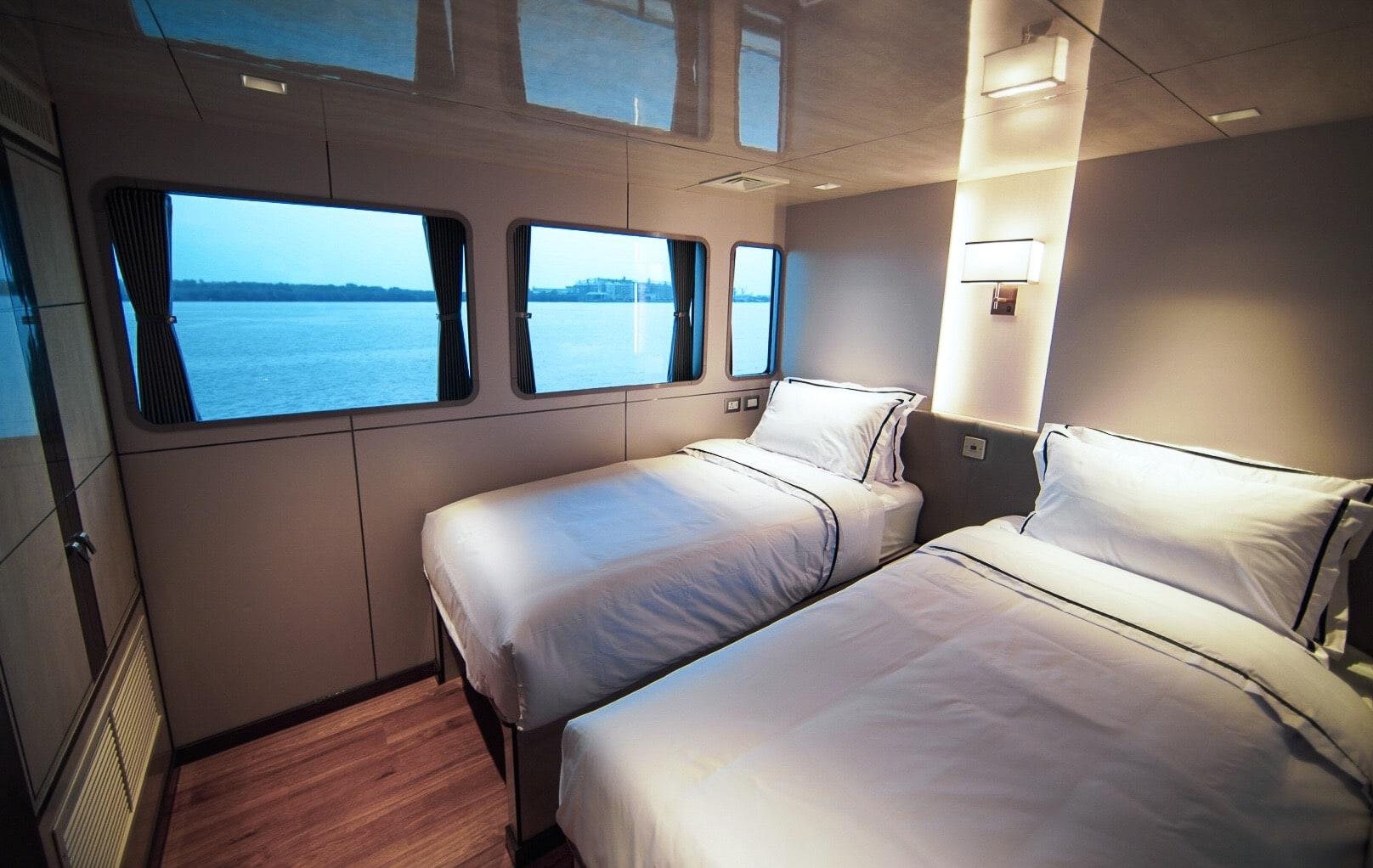 Elite cabin on the scuba liveaboard All Star Velocean in Indonesia