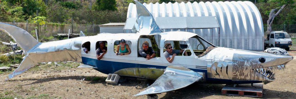 A new airplane wreck for divers in the British Virgin Islands. The dive liveaboard Cuan Law will visit it.