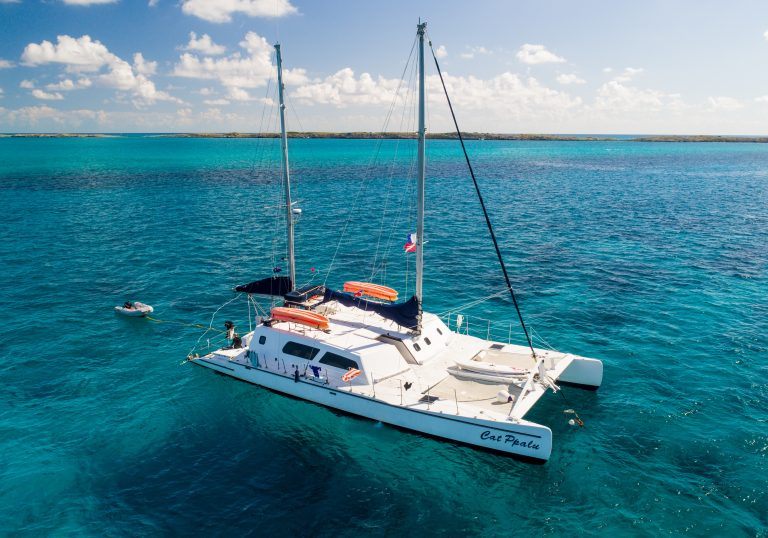 Cat Ppalu is a Bahamas scuba liveaboard catamaran