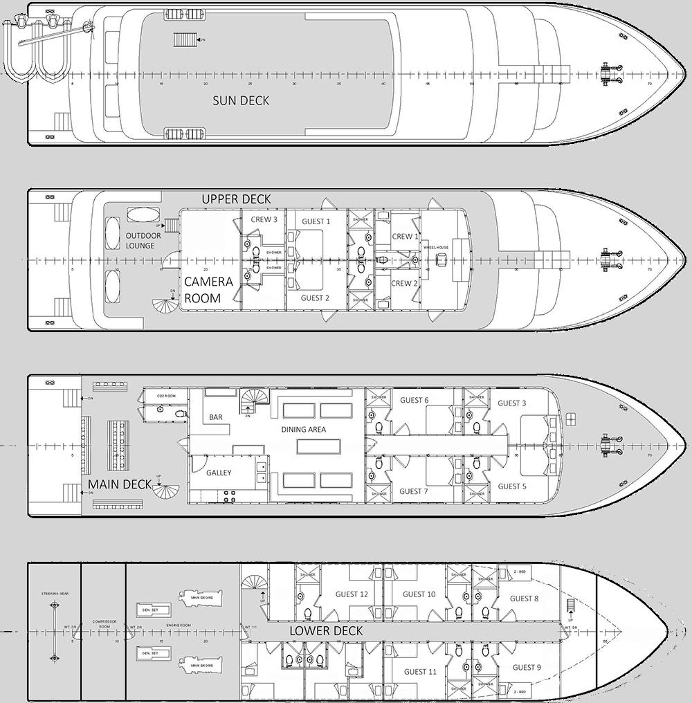 Infiniti's deck plan