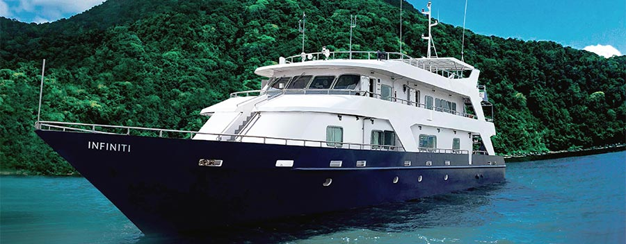 All Star Infiniti is based in The Philippines in the Coral Sea