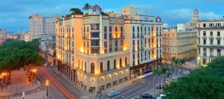Hotel Iberostar Parque Central in Havana, Cuba